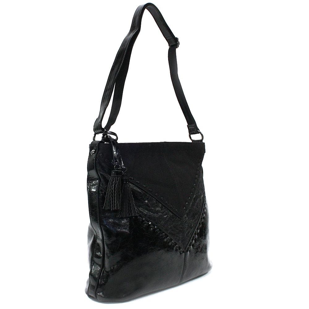 Černá elegantní dámská kabelka přes rameno Harriette