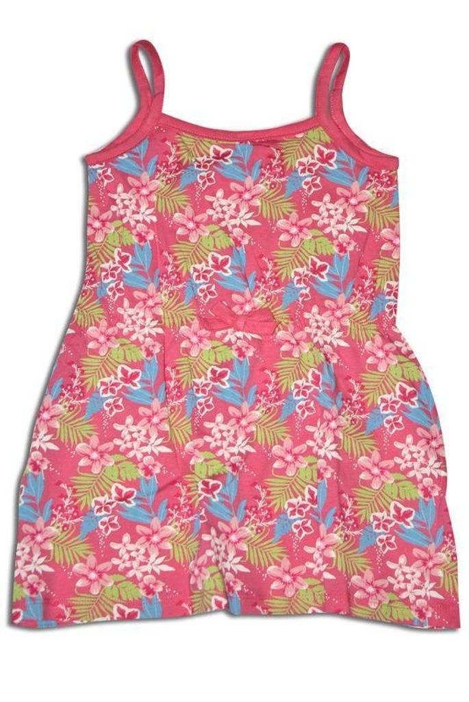 Růžové dívčí šaty Senja - velikost - 68/98, Velikost 68/80