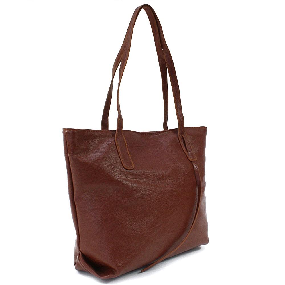 Hnědá dámská kabelka do ruky či přes rameno Adelynn