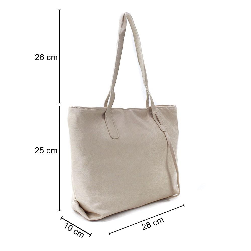 Béžová dámská kabelka do ruky či přes rameno Adelynn