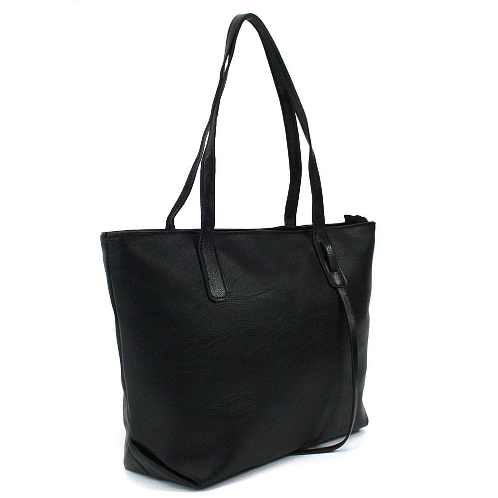 Černá dámská kabelka do ruky či přes rameno Adelynn