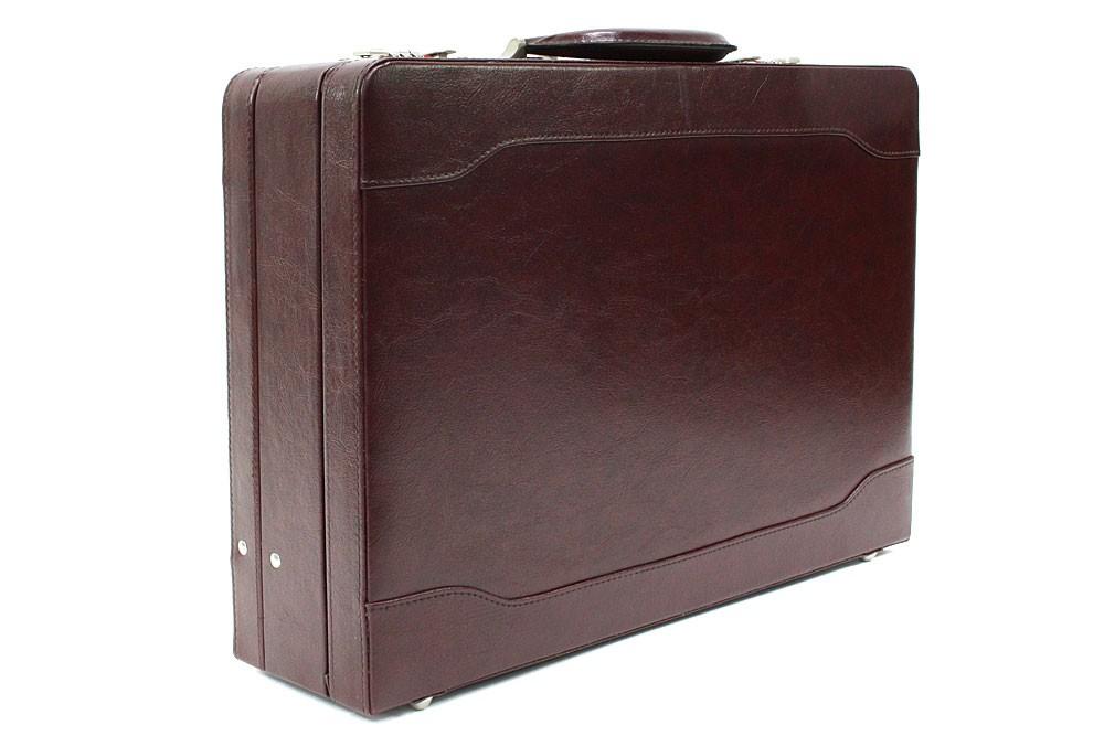 Velký hnědý pánský diplomatický kufr na dokumenty Allister