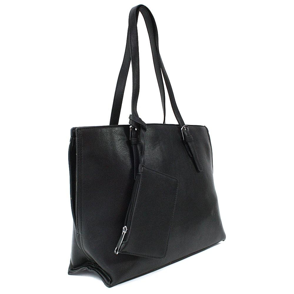 Černý dámský kabelkový set 2v1 Fifine