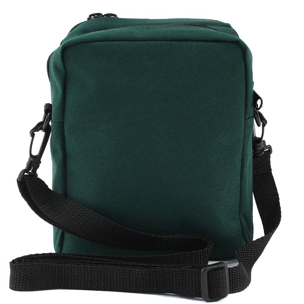 Tmavě zelená pánská praktická zipová crossbody taška Amery