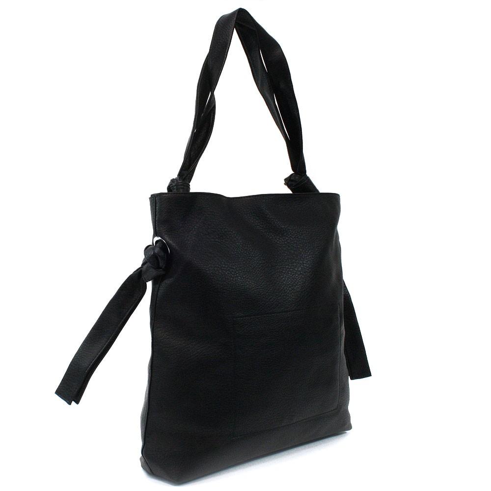 Černá dámská zipová kabelka přes rameno Aryana