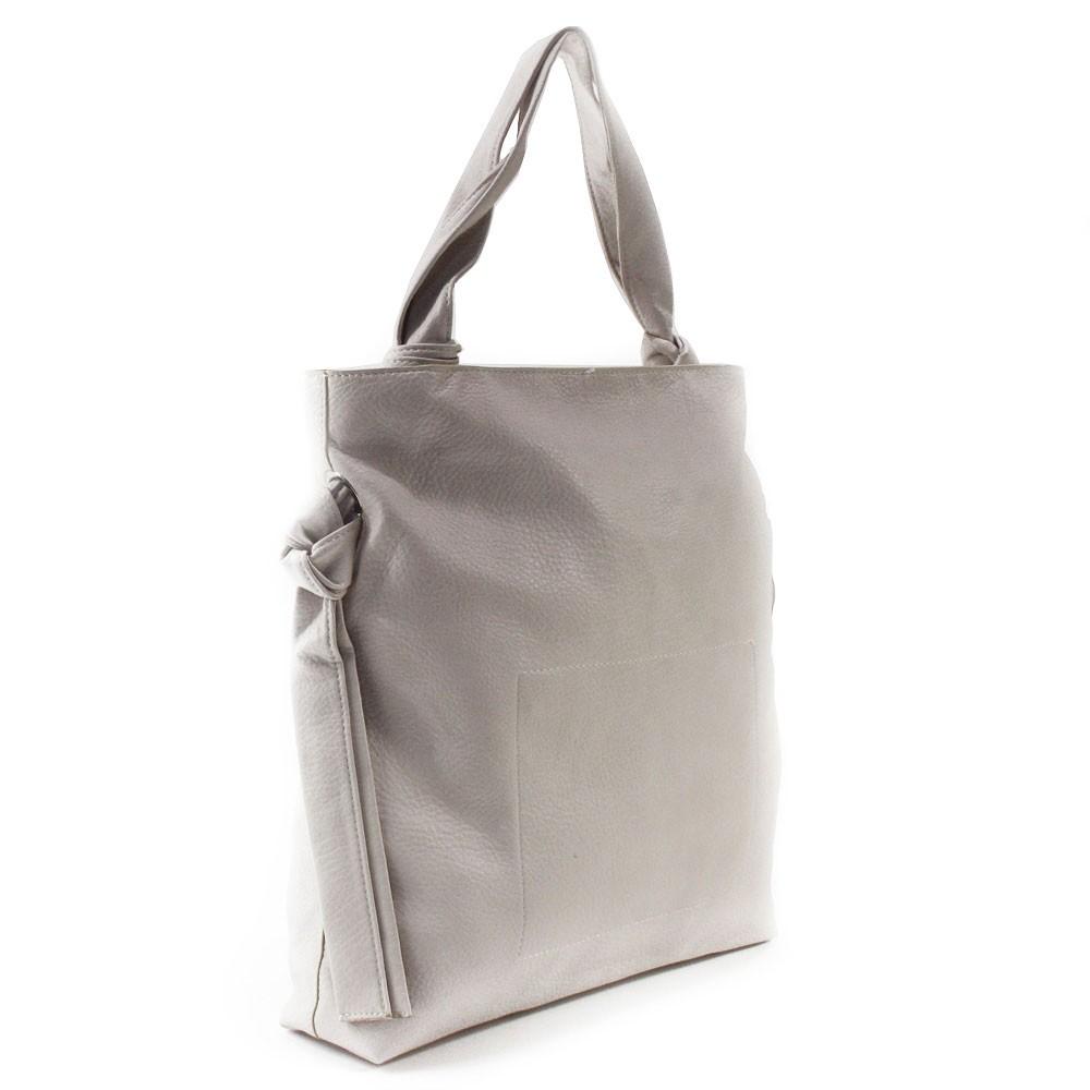 Světle béžová dámská zipová kabelka přes rameno Aryana