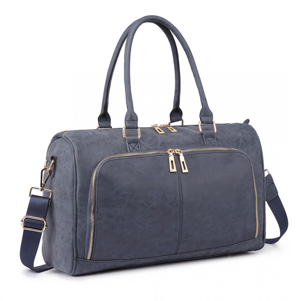 Tmavě modrý luxusní přebalovací set 3v1 Aidith