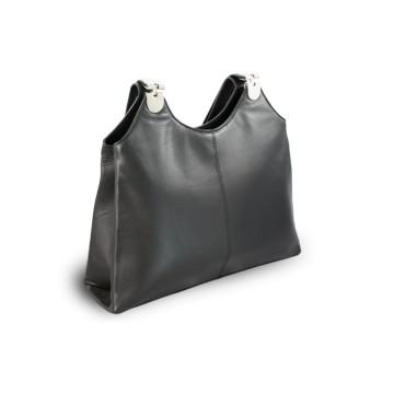 614eb15030 Černá dámská kožená kabelka Penelopie